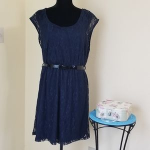 Delirious Navy Blue dress